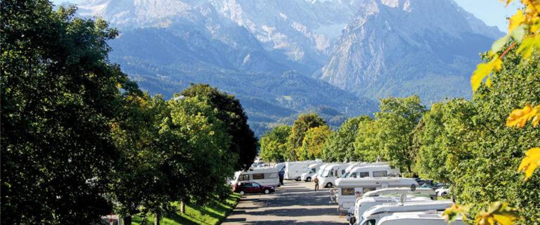 "Motorhome parking space ""Alpencamp am Wank"""