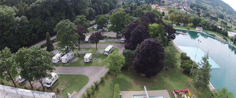 Motorhome parking space in Graz