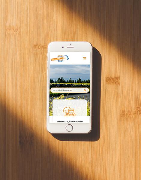 Neue Webseite mobile Ansicht mein-PLATZ