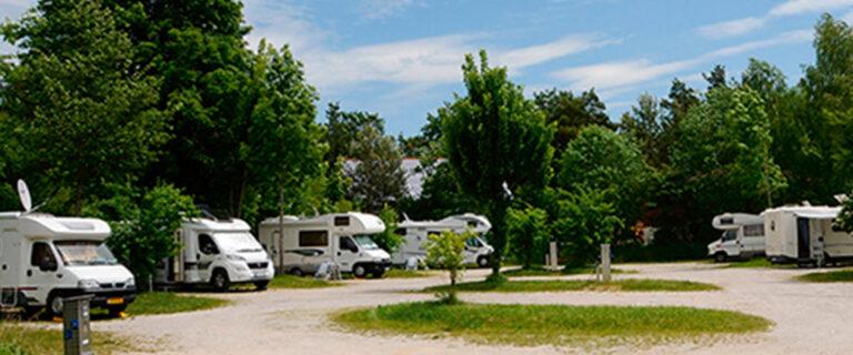 Motorhome park Pottenstein