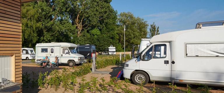 Motorhome parking space in Mettnau
