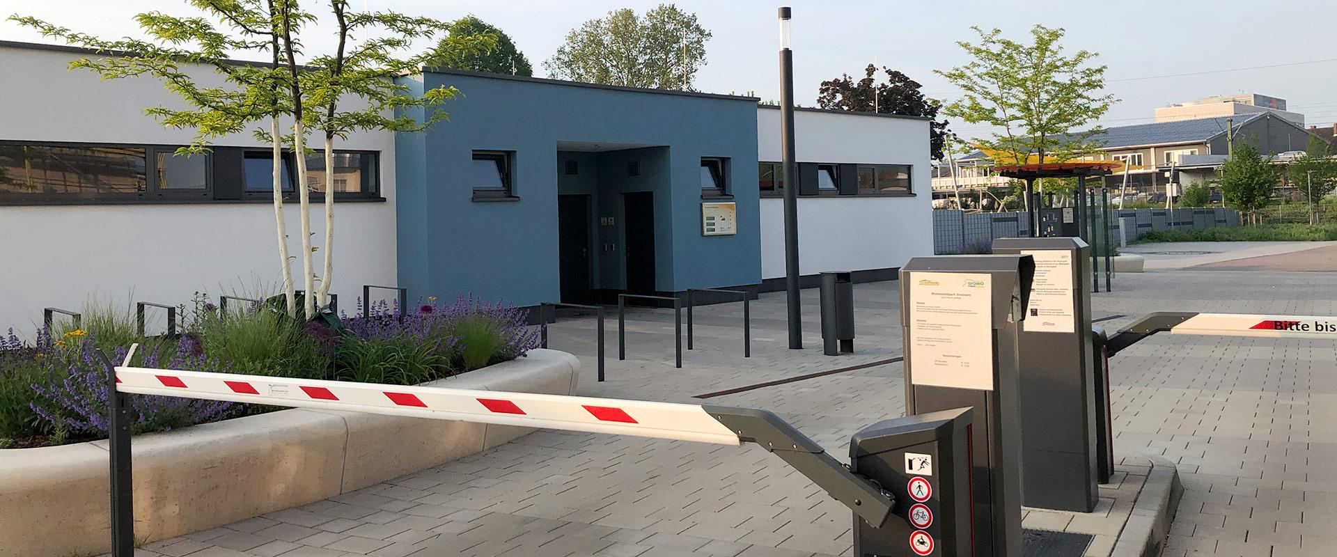 Wohnmobilstellplatz Sinsheim am Freibad