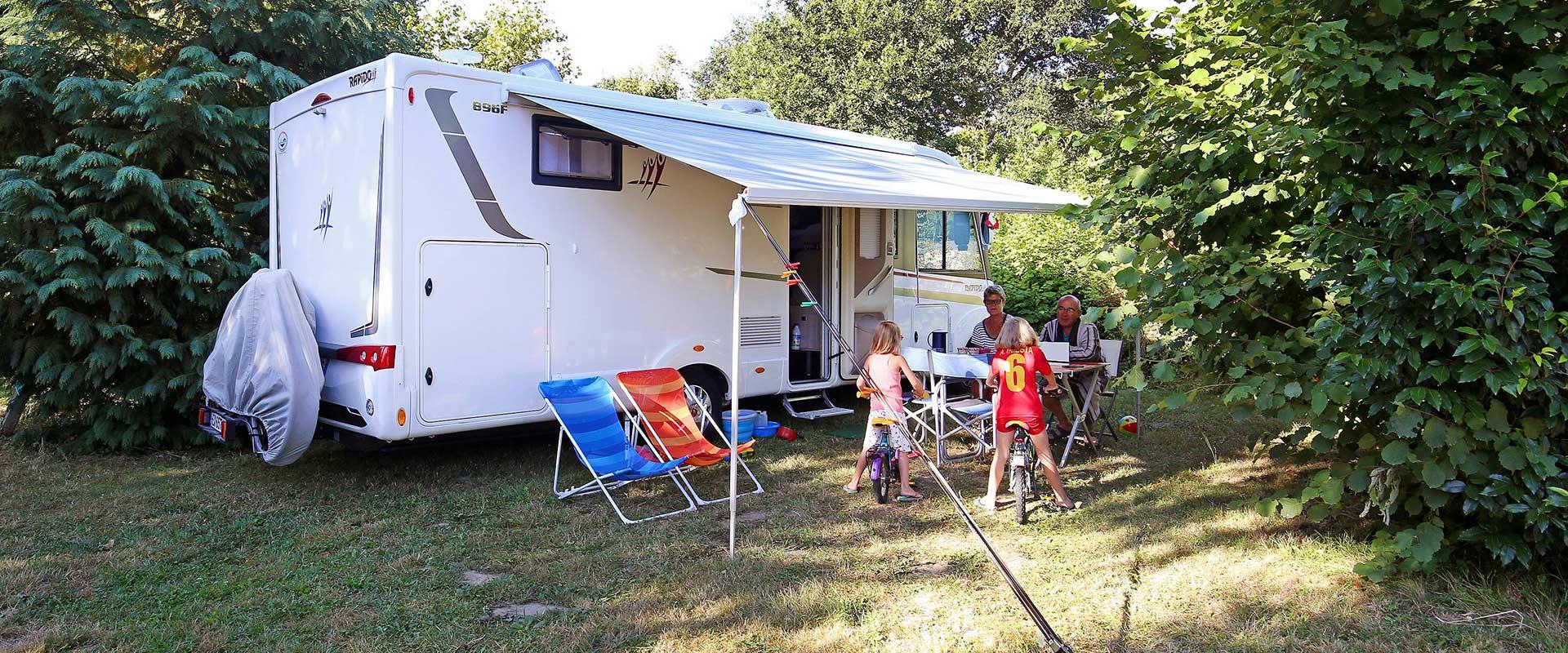 Camping Baie du Mont St. Michel mein-PLATZ