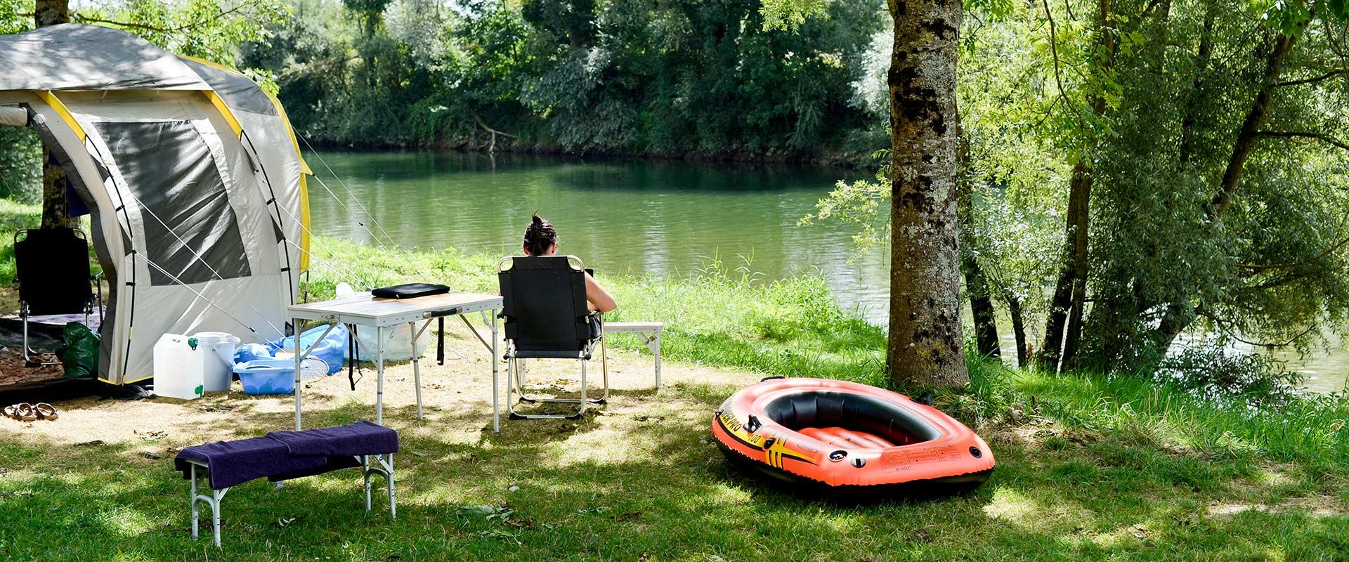Camping Ounans La Plage Blanche mein-PLATZ