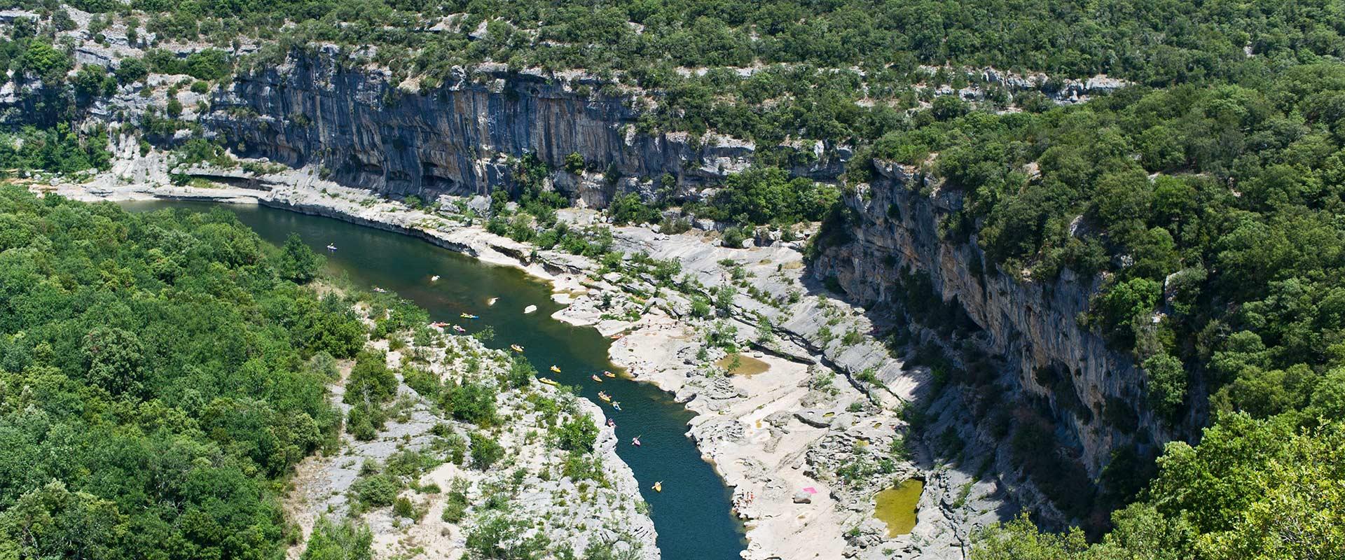 Camping St-Martin-d'Ardèche mein-PLATZ