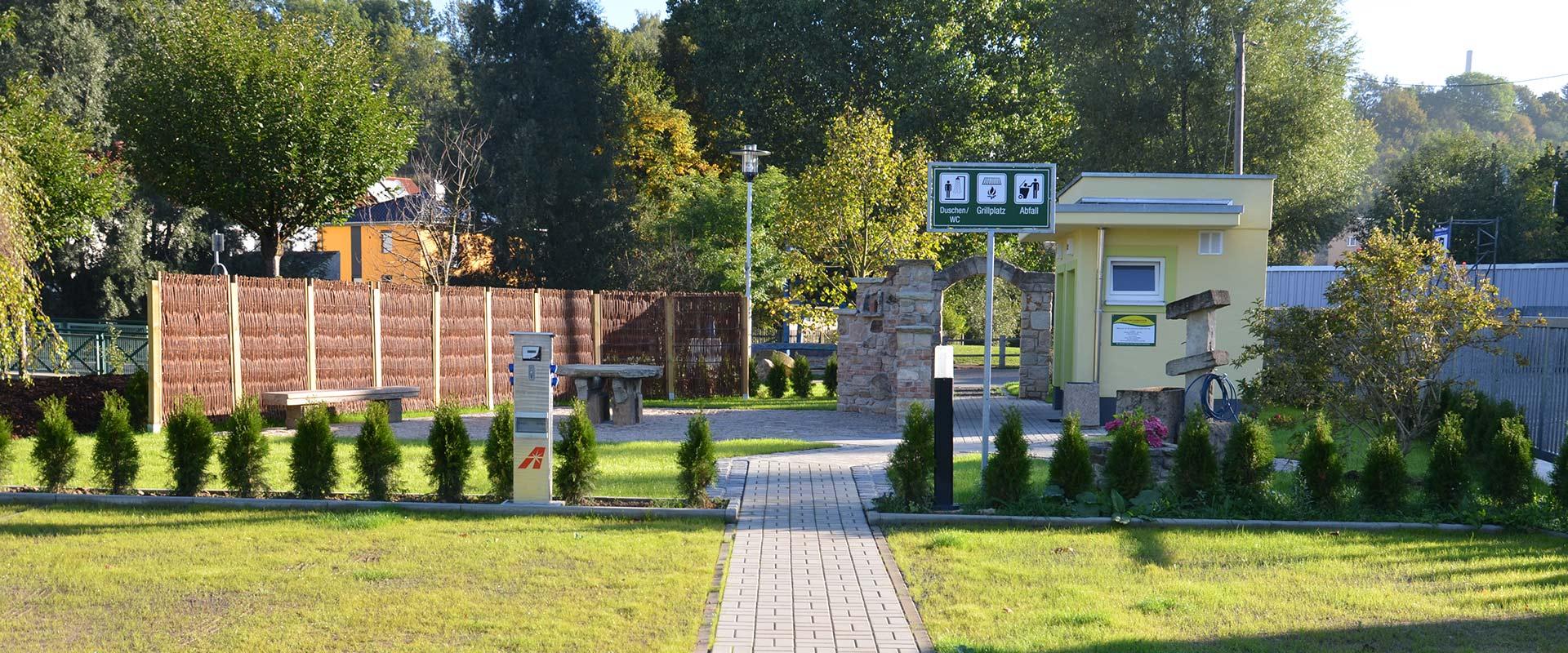 """Wohnmobilhafen """"Gessenpark"""", Gera"""