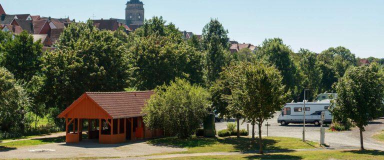 Wohnmobilstellplatz Bruchwiesen, Wolfhagen