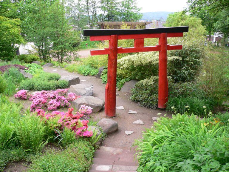 Japanischer Garten Blumengarten Bexbach