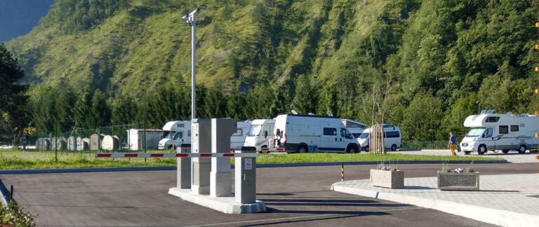 Skrin motorhome parking space