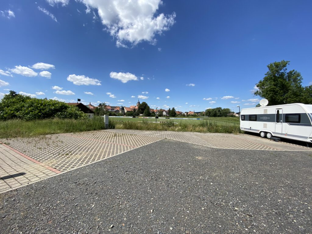 Motorhome parking space at the Rainbrünnlein